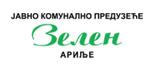 Arilje-zelen-logo